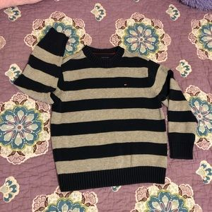 Tommy Hilfiger Blue/Gray Sweater, Size 5